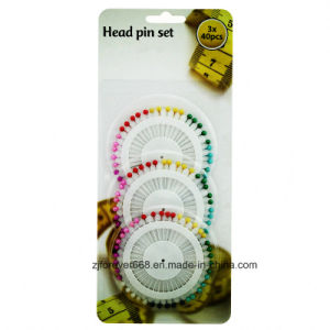 Hot Sale Head Pin Set for Decorative with Different Shape pictures & photos