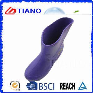 Purple Color Comfortable PVC Rain Boots for Lady (TNK60034) pictures & photos