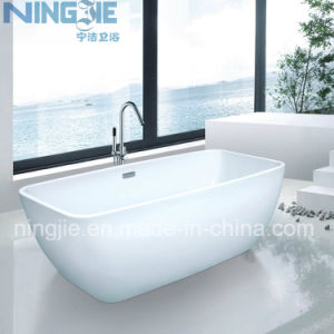 Ningjie Acrylic Modern Freestanding Bathtub (9008) pictures & photos