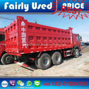 Wholesale Used Sinotruk HOWO Tipper Truck of Used 375HP Dumper pictures & photos