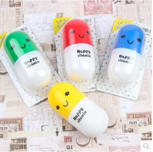 Promotion Small Gift Pill Capsule Expression Towel pictures & photos