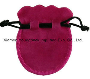 Promotional Custom Small Drawstring Velvet Fabric Jewelry Pouch Bag pictures & photos