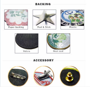 Cartoon Pattern Decoration Gift Embroidery Logo pictures & photos