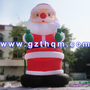 Inflatable Chiristmas Santa Clause Decortion/Inflatable Chiristmas Bouncy Castle pictures & photos