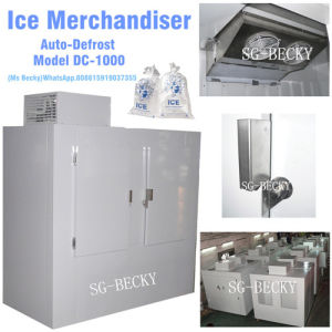 Ice Merchandiser Ice Bin Auto-Defrost Model DC-1000 pictures & photos