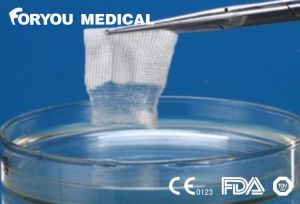 Foryou Medical Bleeding Wound Disposabl Absorbable Gauze Carboxymethylcellulose FDA Sterile CMC Gauze pictures & photos