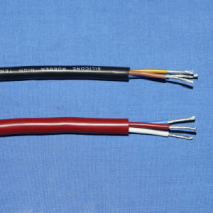 Silicone Rubber Glass Fiber Cable pictures & photos