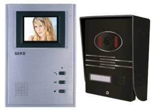 4 Inch Hands Free Color Video Door Phone