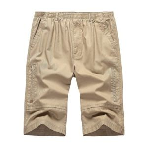 Hot Fashion Men′s Casual Summer Cotton Cargo Shorts pictures & photos