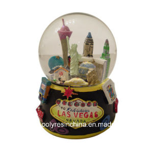 Polyresin Gifts of Lasvegas Souvenirs Snow Balls pictures & photos