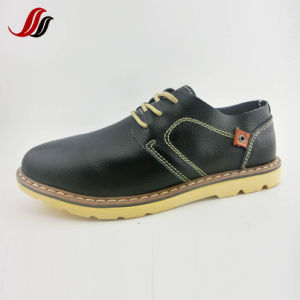 Latest High Quality Men′s Fashion Shoes Casual Leather Shoes (LZ7) pictures & photos