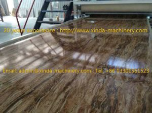 PVC Marble Sheet/Board Production Line pictures & photos