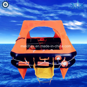 ISO Yacht Throw Overboard Inflatable Life Rafts pictures & photos