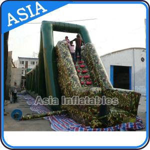 Inflatable Military Zip Line for Sale/Inflatable Army Zip Line pictures & photos
