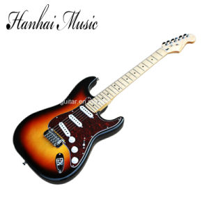 Hanhai Music / Tobacco Sunburst St Style Electric Guitar pictures & photos