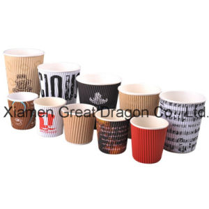 1.5-32 Ounce Hot Beverage Paper Cups and Lids (PC11012) pictures & photos