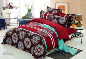 Microfiber Print and Embroidery Comforter 6-9PCS One Set Bedding Set