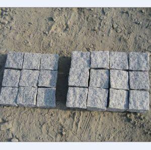 G684 Natural Split Black Granite Paving Stone pictures & photos