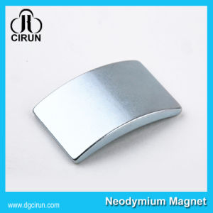 Custom Arc Shape Neodymium Motor Generator Magnet pictures & photos