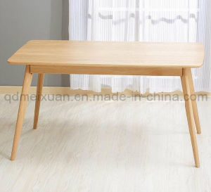 Solid Wooden Dining Table Living Room Furniture (M-X2917) pictures & photos