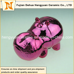 Deep Red Cartoon Toy Piggy Bank for Home Decoration pictures & photos