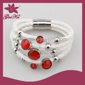 Fashion Leather Bracelet (2015 Stlb-032) pictures & photos
