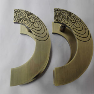 Metal Handle with Copper Plating Finish, Door Handle of Stainless Steel or Aluminum pictures & photos