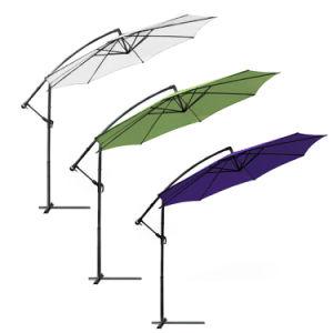 Hz-Um82 10FT Banana Umbrella Garden Hanging Parasol pictures & photos
