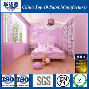 Hualong Environmental Colorful Building Emulsion Latex Coating for Children Room pictures & photos