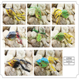 Artificial Soft Frog Fishing Lure pictures & photos