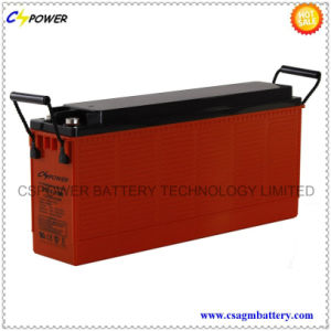 12V100ah Front Terminal Battery for Telecom and UPS pictures & photos