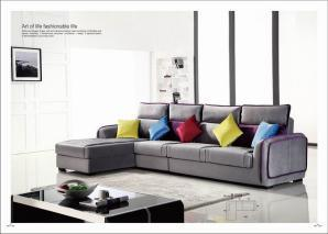 Best Modern Corner Fabric Sofa Bed Lb1008 pictures & photos
