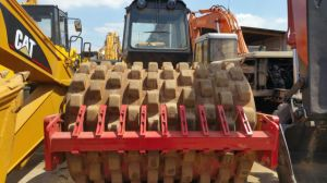 12~25ton Used Available-Sheep-Feet Air-Cooled-Deutz-Engine Dynapac Ca30pd Medium-Size Single-Drum Road Roller pictures & photos