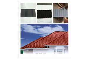 Trade Assurance Stone Coated Metal Roof Tiles, Color Coated Roofing Sheet pictures & photos