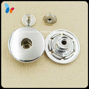 Nickle-Free Nickle Silver Metal Alloy Jeans Button pictures & photos