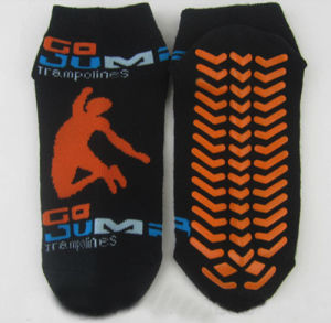Non Slip Socks Yoga Socks Trampoline Sports Socks pictures & photos