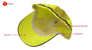 Fashion Reflective Cap, Made of Polyester Fabric pictures & photos