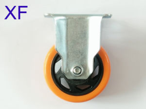 35*75mm PU Caster Wheel for Cart/Furniture pictures & photos
