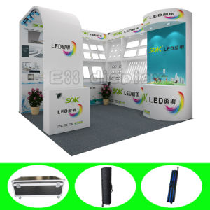 3X3 Portable Versatile Exhibition Display with Fabric Printing pictures & photos