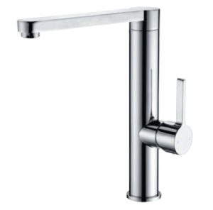 Watermark Approval Sanitary Ware Brass Bathroom Basin Water Tap Faucet (11K-101) pictures & photos