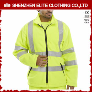 Custom Logo Safety Fluorescent Work Jackets with Reflective Tape pictures & photos