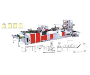 Fully Automatic Non Woven Bag Machine for Various Nonwoven Bag Making pictures & photos