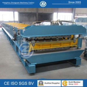Aluminium Double Layer Forming Machine for 900mm 1000mm Roofing Panle pictures & photos