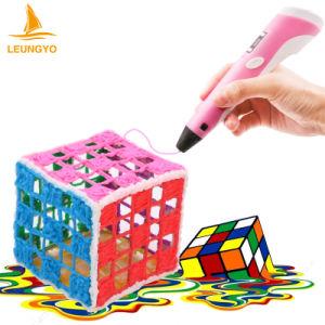 Hot 3D Printer Pen Drawing Pen with ABS Filament Arts LED Printer 3D Pen Lix for Kids pictures & photos
