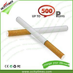 Ocitytimes Button Disposable Elecronic Cigarette 500 Puffs Disposable E Cig Wholesale pictures & photos