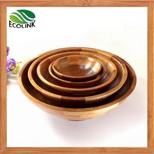 Natural Bamboo Salad Bowl/ Bamboo Bowl pictures & photos