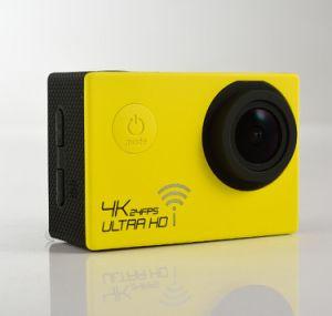 2 Inch Screen 170 Degree Waterproof WiFi 4k Sports Camera