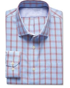 High Quality Classic-Fit Non-Iron Bold Plaid Shirt pictures & photos