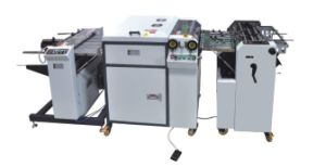 Automatic UV Coating Machine Hssguv-480A pictures & photos
