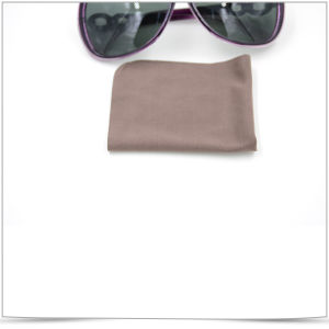 Super Fine Fibre Straight Cutting Sunglasses Cleaning Cloth pictures & photos